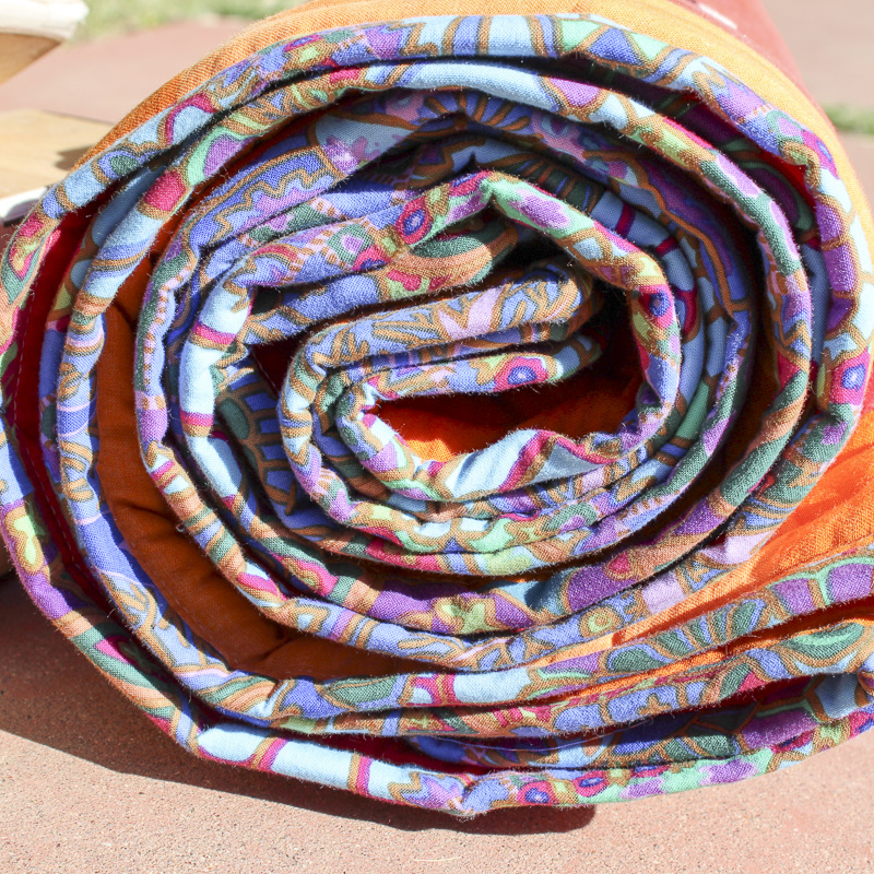 Quilted Yoga Mat And Laser Plywood Blocks